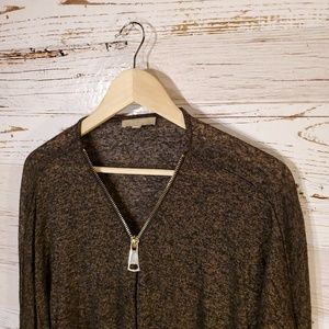 Joan Vass Sweaters - Joan Vass half zip lightweight sweater